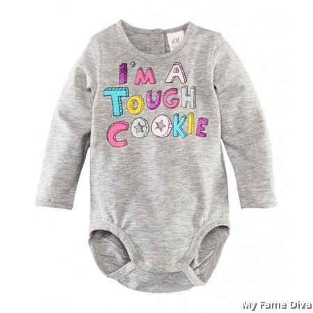 I'm a Tough Cookie (Long Sleeve) Babysuit by CutiesDiva