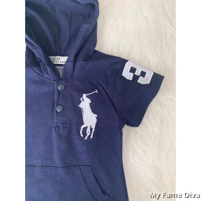 Little Pony Hoodie (Short Sleeve) Babysuit by CutiesDiva