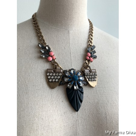 Bohemian Rugged Statement Necklace