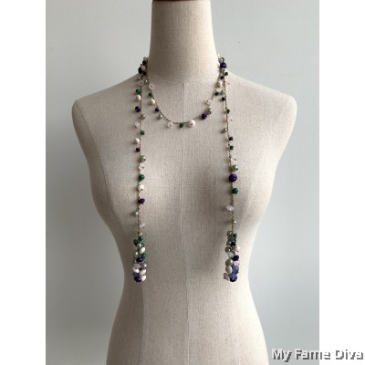 Multiway Beads Long Necklace