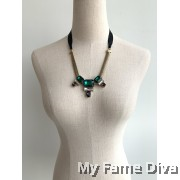 Marni Diamante Strap Necklace