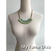 Onde Delicate Diamante Necklace
