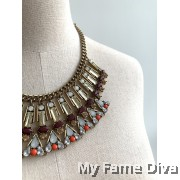 Bohemian Vibrant Layered Necklace