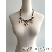 Blooming Pastel Statement Necklace