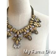Pastellia in Diamante Statement Necklace