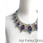 GLAM Goddess Statement Necklace