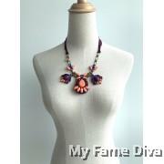 Vibrant Colorful Marni Necklace