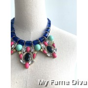 Colorful Coasta Choker Necklace