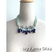 GLAM Layered Pearl Necklace