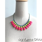 Colorful VIVA Statement Necklace