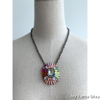 Spring of Crown Necklace