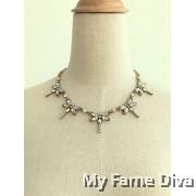 Dragonfly Diamante Necklace