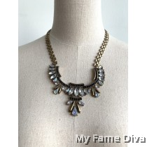 Bohemian Roxane Structured Necklace