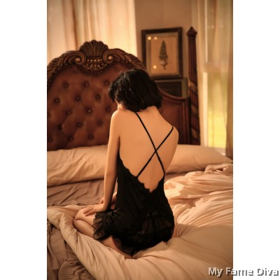 Sheer n Sexy : Princess Alia Tiered Slip-on Lingerie