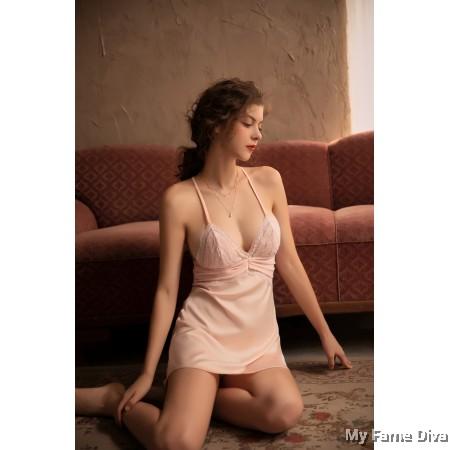 Sheer n Sexy : Leia Ruffles Sheer Babydoll Lingerie