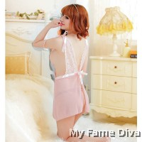 Sweet Adore Nude Pink Babydoll