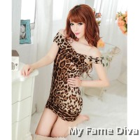 Wild Things : 2-way Convertible Animal Print Dress