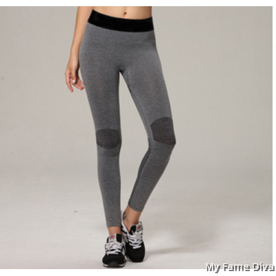 Sporty Low-Rise Long Tights