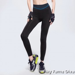 Geometrica Sporty Low-Rise Long Tights
