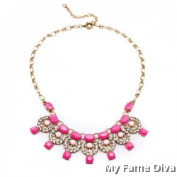 D'Colorful Spells Diamanté necklace