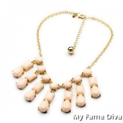 D'Pastels Droplet Necklace