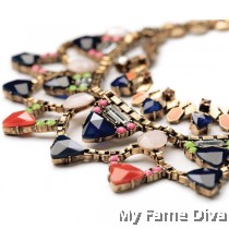 D'Colorful Moments Tier Necklace