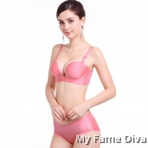 3D Ultimate Comfort Brassiere PINK Set