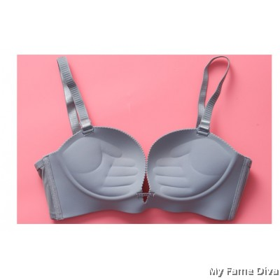 3D Ultimate Comfort Brassiere GREY Set (Wireless)