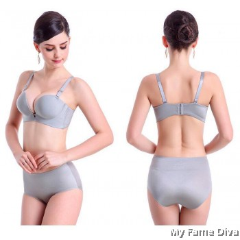 3D Ultimate Comfort Brassiere GREY Set