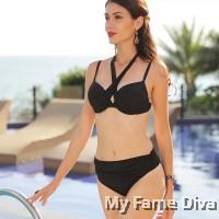 Back 2 Basics : Bombshell Criss Cross Multi-ways Wrap Bikini Set