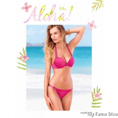 Back 2 Basics : Bombshell Strappy Bikini Set