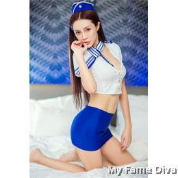 Air Stewardess Fantasy Costume Lingerie set