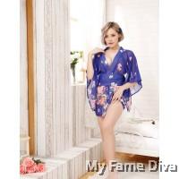 Oriental Kimono in Spring of Love