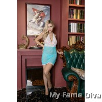 PLUS SIZE : Sweetie Lacey Satin Babydoll