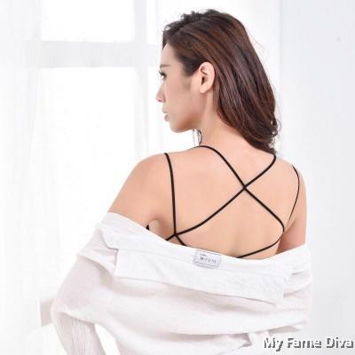 Seamless Strappy Sexy Back Bralette (Wireless)
