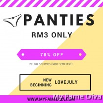 PANTIES @ RM3 Only