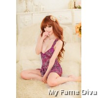 Love Birds : Sweetie Ruffles Ribbon Babydoll