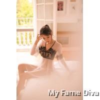 Sheer n Sexy : Belle Eyelash Lace Long Sleeve Lingerie