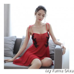 Charming Babydoll in Red