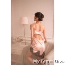 The Satin Collection : Preciousia Coral Satin Nightwear