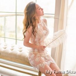 Sheer n Sexy : Sweet Allia in Sheer Babydoll Dress