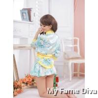 Oriental Kimono Sweetie in Blue
