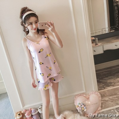 PJ Collections : Sweetie Dolly Print PJ Cami Set