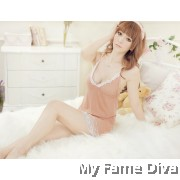 Pretty in Nude Lacey Babydoll