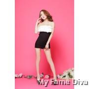 Ruffles Diva Clubwear Tube Dress