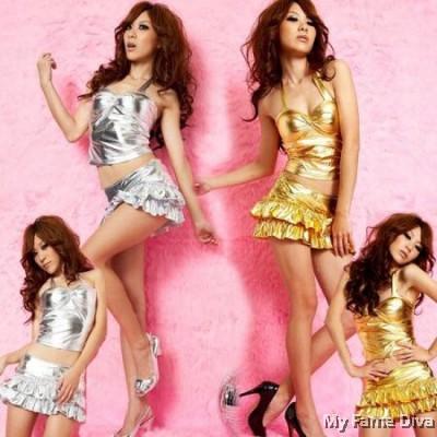 Metallic Diva Clubwear