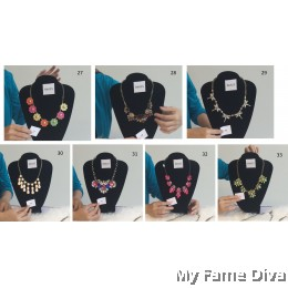 Statement Necklace (Design 57-59, 62-67)