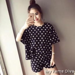 PJ Collections : Fancy Polkadot Tee
