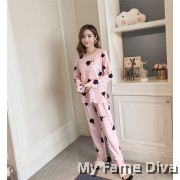 PJ Collections : Sweetie Dancer Long Sleeve Pajamas Set