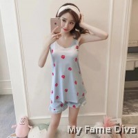 PJ Collections : Sweetie in Spring Print Cami PJ Set